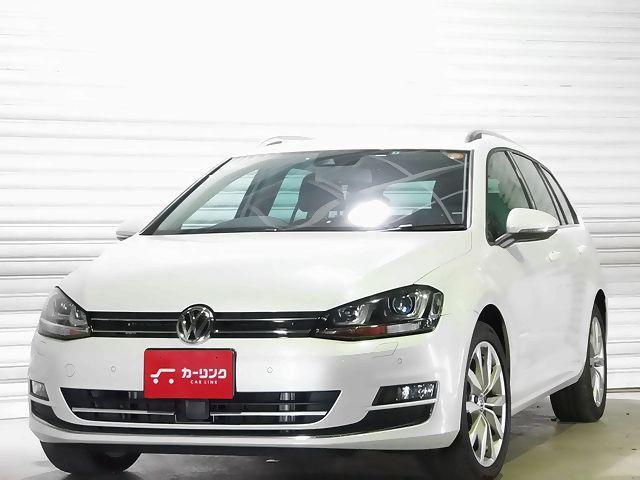 VW ゴルフヴァリアント TSIハイラインBMT純正フルセグTV ACC禁煙1オ−ナー(フォルクスワーゲン)【中古】