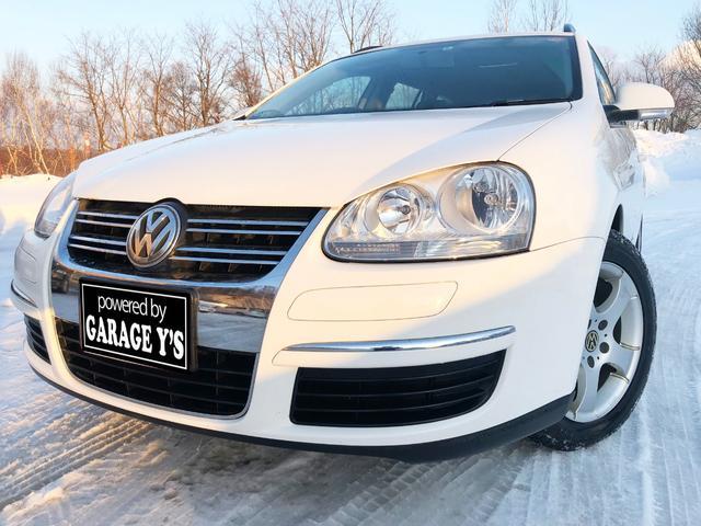VW ゴルフヴァリアント TSI トレンドライン 社外ナビ ETC 禁煙車 保証付き(フォルクスワーゲン)【中古】