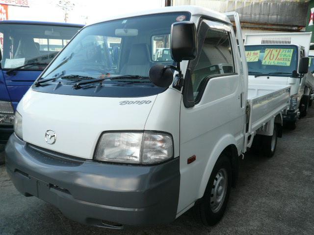 ボンゴトラック 1t積 4WD 平ボディ リヤWタイヤ(マツダ)【中古】