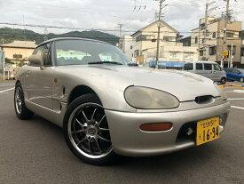 カプチーノ ベースグレーAC PW 5Fマニュアルミッション(スズキ)【中古】