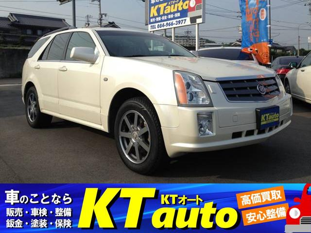 キャデラック SRX 4.6L 4WD DVDナビ 左ハンドル ディーラー車(キャデラック)【評価書付】【中古】