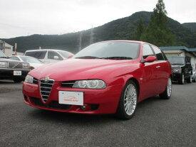 アルファ156スポーツW 2.5 V6 24V Qシステム(アルファロメオ)【評価書付】【中古】