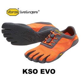 vibram fivefingers ビブラムファイブフィンガーズ 5本指シューズ KSO EVO 17w0701 Fiery Coral/Grey 【ネコポス不可】