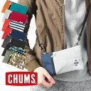 チャムス スマホ ショルダー CHUMS スマホ iPhoneケース Smart Phone Shoulder Sweat Nylon スマートフォンショルダー…