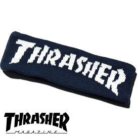 スラッシャー ヘアバンド THRASHER MAG LOGOジャガードヘアバンド 16TH-HB50
