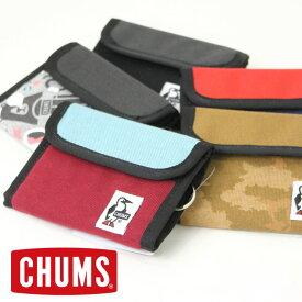 チャムス 財布 CHUMS トリフォルドウォレット スウェットナイロン CH60-2688 / 財布 メンズ レディース 三つ折