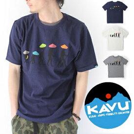 KAVU Tシャツ メンズ カブー Back to Nature Tee バックトゥネイチャー 19820426 フェス 野外フェス 夏フェス ファッション 山ガール 春 夏 春夏