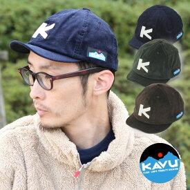 帽子 メンズ レディース 秋冬 コーデュロイキャップ kavu ベースボールキャップ 大きいサイズ カブー 売れ筋 19820936 ワークキャップ ブランド キャンプ ファッション 日本製