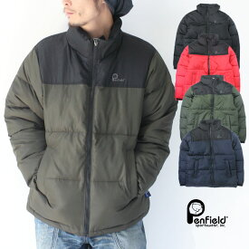 ペンフィールド 中綿 ジャケット メンズ PenField 切り替え 中綿ジャケット メンズ アウター 防寒 アウトドア 秋 冬 秋冬 大きいサイズ BIGサイズ ブランド