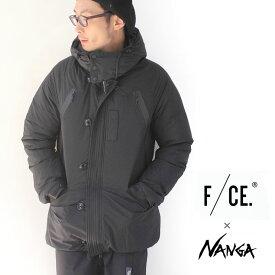 エフシーイー F/CE. × NANGA ナンガ N3B TYPE A JACKET N3-B ジャケット メンズ 秋冬 ダウン ブラック M/Lサイズ 日本製
