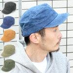 ピグメントワークキャップメンズ帽子キャップアウトドアウォッシュユーズド風オリーブ/ブラック/ベージュ/ネイビー/タン