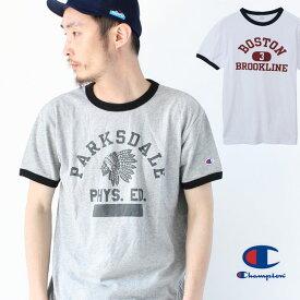 チャンピオン Tシャツ メンズ チャンピオン リンガー Tシャツ 半袖 C3-P339