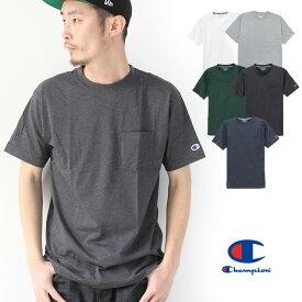 チャンピオン tシャツ ポケット メンズ Champion TRAINING ポケT C3-PS323 速乾
