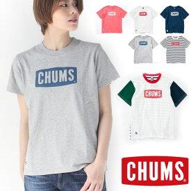 チャムス Tシャツ レディース chums CH11-1324 キャンプ ファッション ブランド アウトドア キャンプ ファッション 秋 冬 秋冬 返品不可