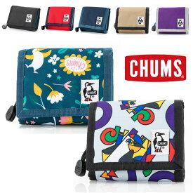 チャムス 財布 二つ折り CHUMS ブランド エコマルチウォレット CH60-2194 春 夏 春夏 キャンプ フェス 野外フェス ファッション おしゃれ かわいい コインケース 小銭入れ キーケース 定期入れ パスケース