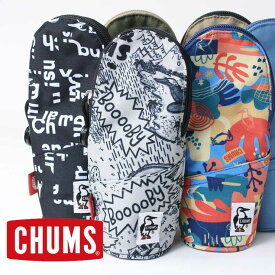 CHUMS チャムス リサイクルロングスタンドケース CH60-3131 ポーチ ペンケース スタンド式 自立 収納 キャンプ アウトドア 筆箱