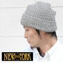 NEWYORKHAT ニューヨークハット MARL CHUNK CUFF #4680 ニット帽 ビーニー 大きいサイズ ワッチ 薄手 おしゃれ カラフル ニット...