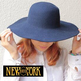 【あす楽】NEWYORKHAT ニューヨークハット FELT FLOPPY #5432 女優 新作 つば広 【メール便不可】【返品交換不可】【お一人様1点限り】