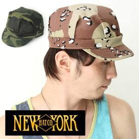 made in usa NEW YORK HAT CO  NEWYORK HAT ニューヨークハット CAMO ENGINEER  エンジニアワークキャップ #6260 ワークキャップ メンズ 帽子 キャップ 迷彩柄 かっこいい 大きいサイズ 深め メンズ ファッション 迷彩