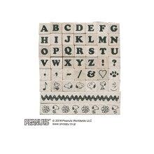 こどものかおスヌーピープチ文字セットUアルファベット2250-001