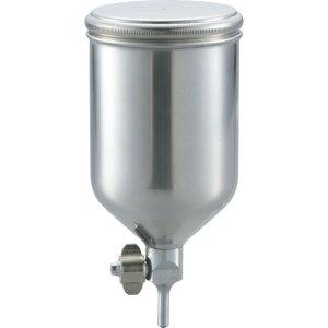 TRUSCO ステンレス塗料カップ 重力式用 容量0.4L 脚付