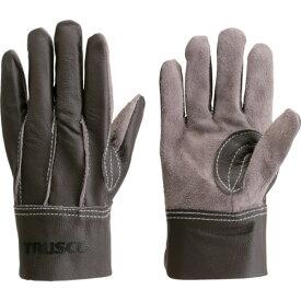 TRUSCO 牛本革製手袋 ブラウン M