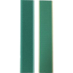 ユタカメイク マジックテープ アイロンワンタッチ 25mm×15cm グリーン