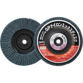 TRUSCO GPナイロンミックスディスク ねじ込み 直径100 5個入 600