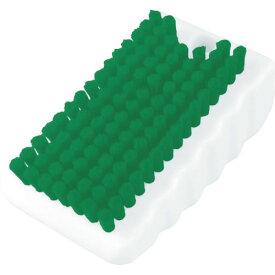 TRUSCO ツメブラシ HACCP対応 グリーン