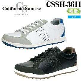 【California Sunrise SPORTS】カリフォルニアサンライズ ゴルフシューズ CSSH-3611