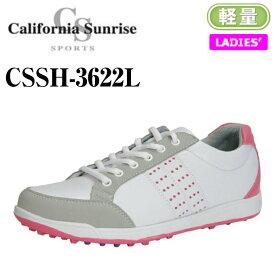 【California Sunrise SPORTS】カリフォルニアサンライズ ゴルフシューズ CSSH-3622L
