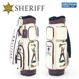 SHERIFF シェリフゴルフ ウエスタンシリーズ キャディバッグ SFW-010