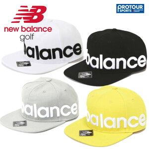 NEW BALANCE ニューバランス ロゴデザイン フラットブリムキャップ 012-9187003
