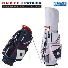 ONOFF×Patrick オノフ×パトリック キャディバッグ PB0219