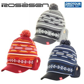 ROSASEN ロサーセン ツバ付ニットキャップ 046-51001