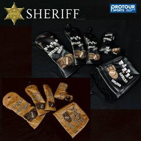 SHERIFF Western Series シェリフゴルフ ウエスタンシリーズ ヘッドカバー 各種 SFW-011