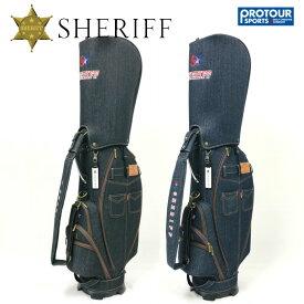 SHERIFF シェリフゴルフ アメカジシリーズ キャディバッグ SAM-002