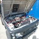 【送料無料・即日発送】JA12 JA22 ジムニー ステンレス製 エンジンルーム補強バー 補強 強化 クロカン 本格 …