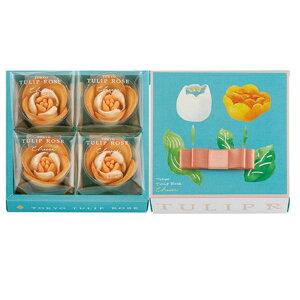 東京チューリップ チューリップローズチーズ 4個 スイーツ 花 セット ギフト プレゼント 誕生日プレゼント 内祝い 詰め合わせ おしゃれ お取り寄せ 食品 母 女友達 女性 健康
