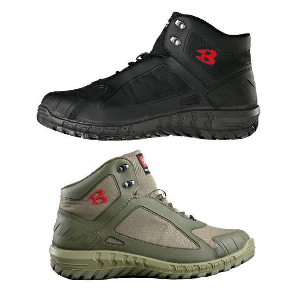 BURTLE バートル セーフティフットウェア 812 スニーカー 作業靴 安全靴 耐油・耐酸 ひも レース ハイカット メンズ靴 作業用品【メーカー在庫確認・お取り寄せ品】