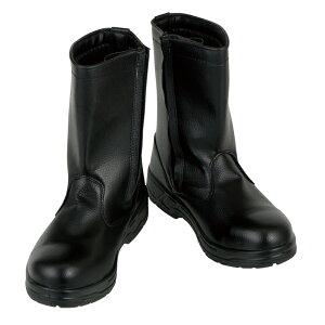 CO-COS コーコス ZA-817 安全靴 作業靴 長靴 ブーツ 鋼製先芯 耐油底 ツマ先本革 ブラック メンズ靴 作業用品【メーカー在庫確認・お取り寄せ品】