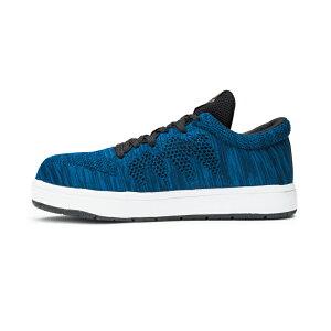 安全靴 スニーカー ジョーマーべリック ファインニット JW-451 JW-452 JW-453 ブルー ローカット JOH MAVERICK Fine Knit セーフティーシューズ メンズ靴 作業用品 紐 ひも【メーカー在庫確認・お取り寄