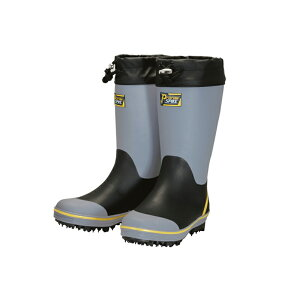 丸五 プロレインスパイク M-31 長靴 耐滑スパイクソール 土木・農・林業 グレー【メーカー在庫確認・お取り寄せ品】