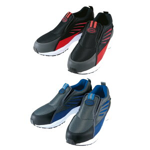 丸五 マンダムセーフティー#775 #775B 安全靴 作業靴 スリッポン スニーカー 通気性 踵衝撃吸収 合成皮革 メッシュ メンズ靴 作業用品【メーカー在庫確認・お取り寄せ品】