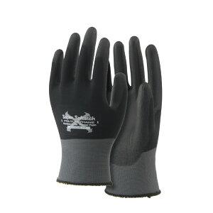 おたふく手袋 A-396 ソフキャッチEXフィット ポリウレタンノーマルパーム  10双セット 背抜き手袋【メーカー在庫確認・お取り寄せ品】