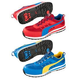 【送料無料(※北海道沖縄離島除く)】 PUMA プーマ Kickflip Low キックフリップ ロー セーフティスニーカー 安全靴 メッシュ レースアップ メンズ靴 作業用品 JSAA規格A種認定品【メーカー在庫確認・お取り寄せ品】