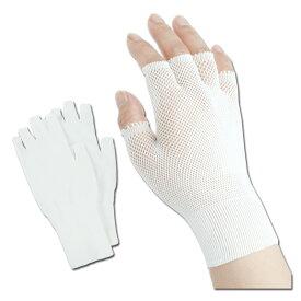リーブル No.650 インナーフィット 指切りタイプ 10双セット/袋 フリーサイズ インナー手袋 手汗対策 【メーカー在庫確認・お取り寄せ品】