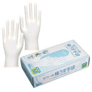 東和コーポレーション TOWA 使い捨てビニール極薄手袋(パウダーフリー) NO.787 100枚/箱 1箱 在庫品 衛生 園芸 食品加工 油を使う作業 塗装 印刷 介護 衛生