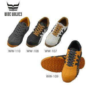 おたふく手袋 ワイドウルブス WW-107 WW-108 WW-109 WW-110 INNOVATE ローカット 安全靴 スニーカー 作業靴 ローカット ひも シューレース メンズ靴 作業用品【メーカー在庫確認・お取り寄せ品】