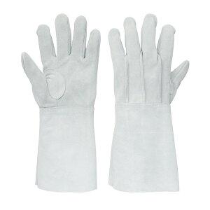 proues(プロウエス) 8701-7 牛床革手袋 背縫い溶接5本指(外縫) 1双 作業用手袋 牛床皮手袋 PROUESU 日光物産(NiKKO)